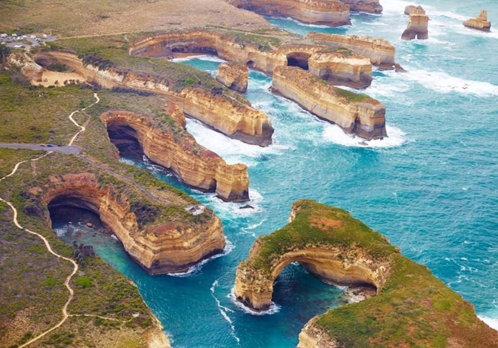 Ущелье Лох-Ард (The Loch Ard Gorge).